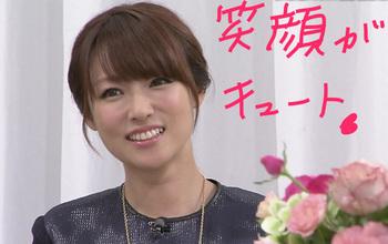 かわいい笑顔の深田恭子.JPG